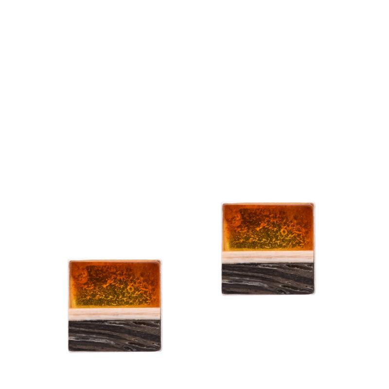 Kolczyki LITTLE BLACK STRIPES